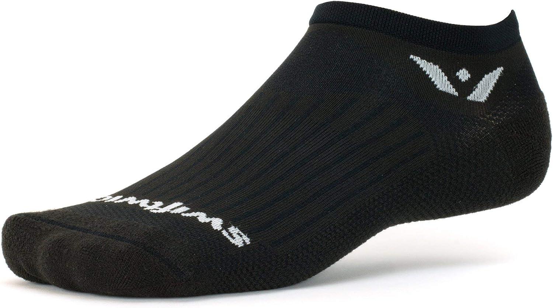 Swiftwick- ASPIRE ZERO Running Socks & Cycling Socks, Wicking, No-show, Mens & Womens: Clothing