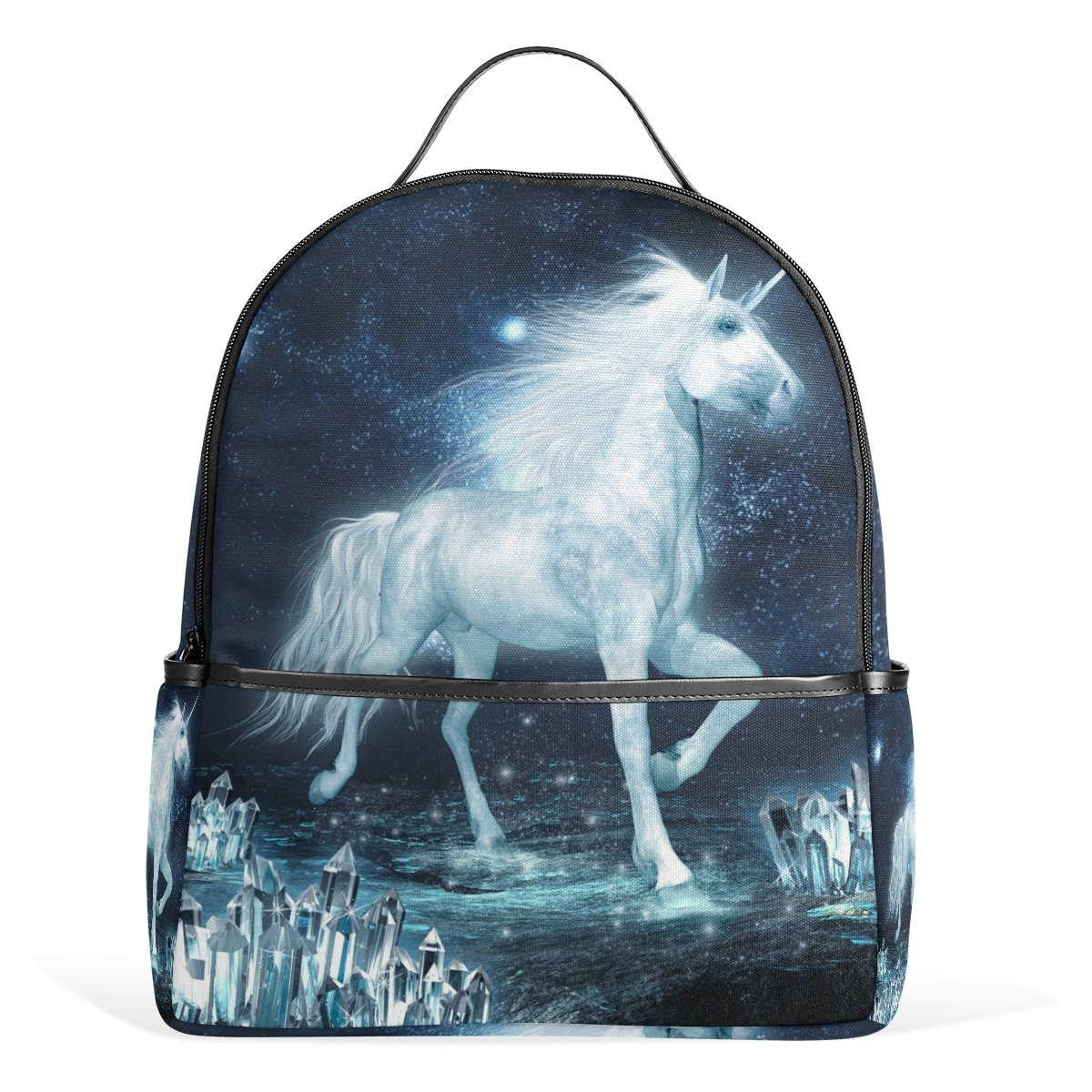 7acc180439 jstel Unicorn Running School Backpack 4th 5th 6th Grade for Boys Teen Girls  Kids  Amazon.in  Bags