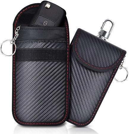 Lanpard 2 Stk Mini Keyless Go Schutz Autoschlüssel Rfid Elektronik