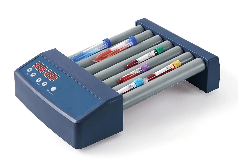 Scilogex 82321001 Model MX-T6-S Analog Tube Roller 6 Rollers 100//240V Cn Plug Variable Speed