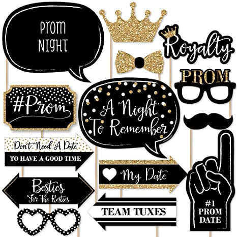 picture about Free Printable Photo Booth Props Words known as Prom - Image Booth Props Package - 20 Rely