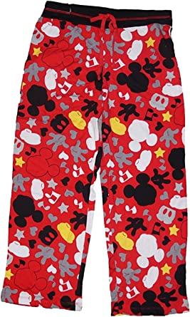 Disney Classic Minnie Mouse Womens Boxer Shorts Red