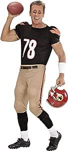 WIDMANN Jugador de fútbol Americano - Adulto Disfraz - Grande ...