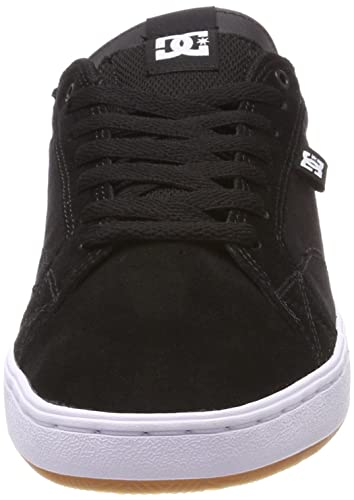 Amazon.com: DC Astor Shoes 10 B(M) US Women / 9 D(M) US Black White Gum: Shoes
