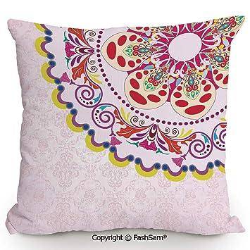 Amazon.com: Funda de almohada decorativa vintage de moda con ...