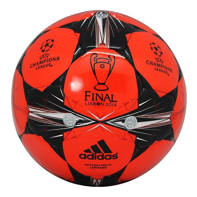 adidas Ballon Football Finale Lisbon 2014 Capitano Rouge G82969 ...