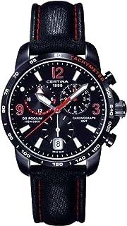Certina 1888 – Swiss Made 0 - Reloj de cuarzo para 0, con correa de