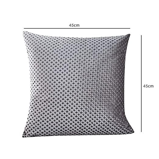 Amazon.com: onebanana Decorative Pillows Gray Throw Pillows ...