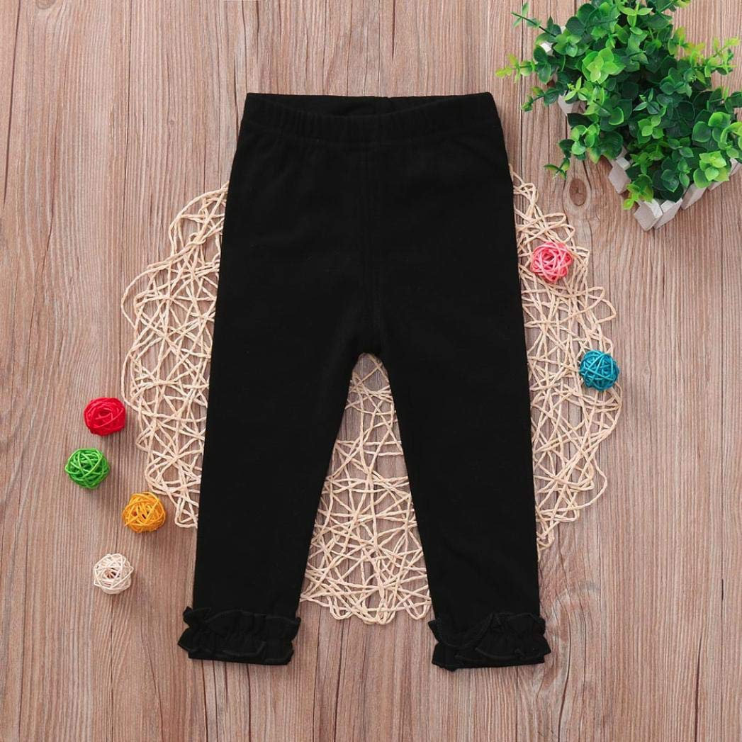 Candy Color Leggings Boys Girls Trousers Pants Skinny squarex Baby Clothes