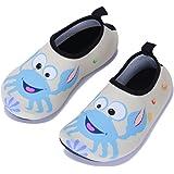 Wonesion Kids Toddle Water Shoes Unisex-Child Water Aqua Socks for Swimming Running Yoga
