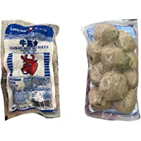 Flamingo Brand Cooked Meat Balls with Tendons bò viên giòn 牛筋丸 5oz - Total of 6 units