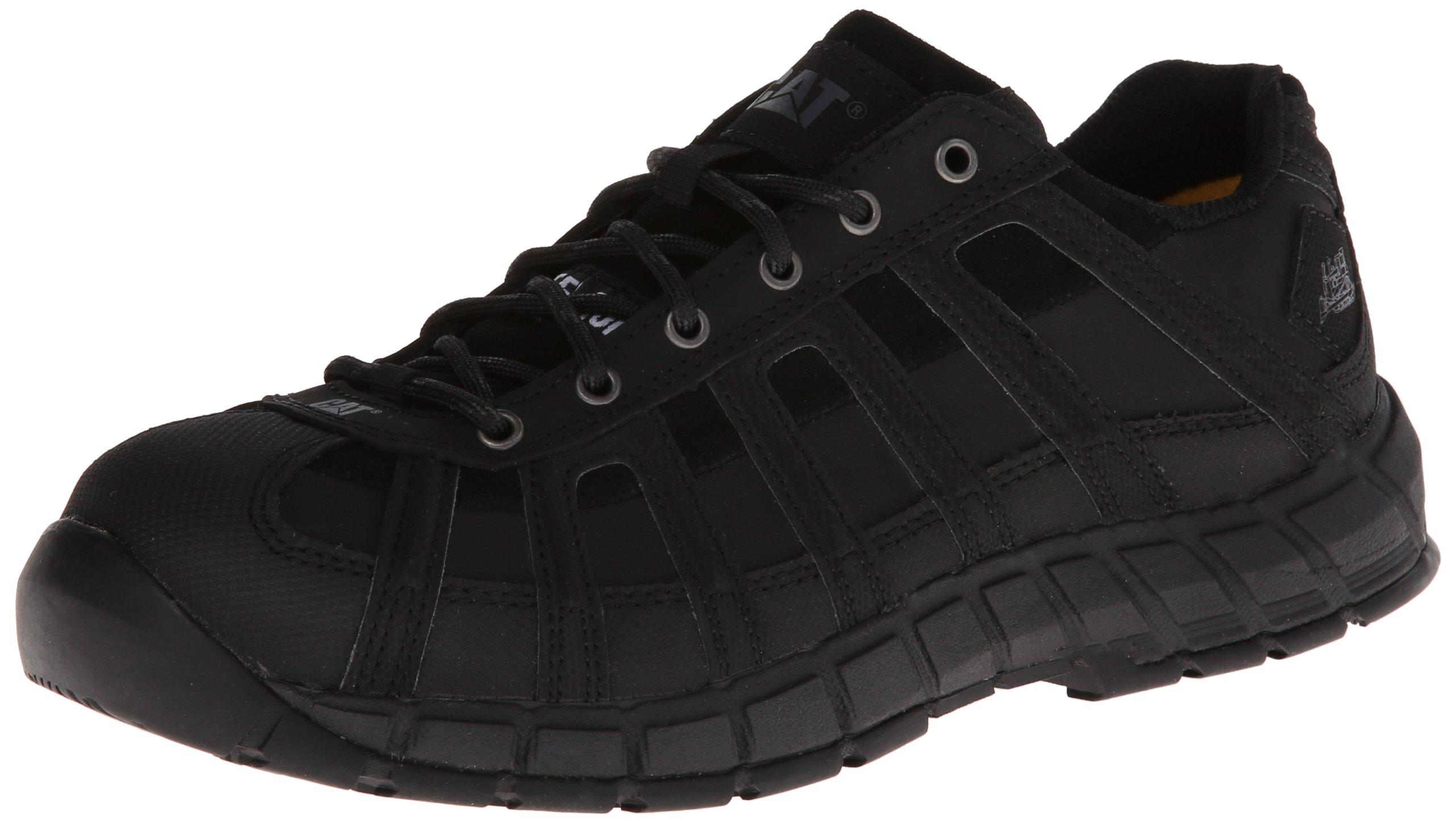Caterpillar Women's Switch Steel Toe-W, Black, 8 M US