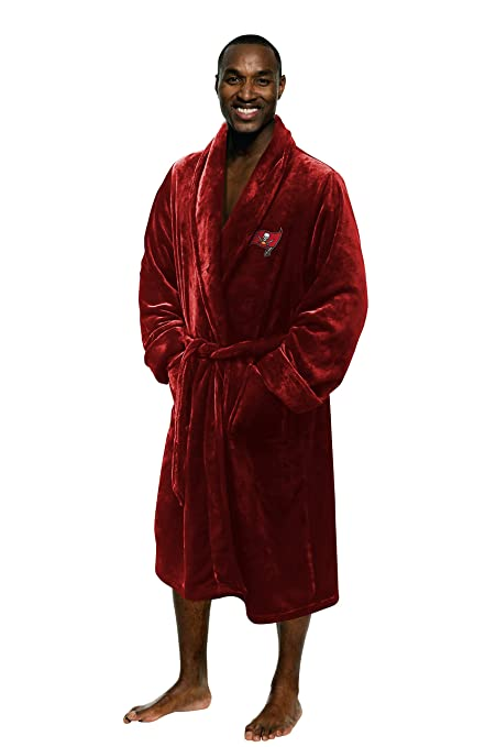 Image Unavailable. Image not available for. Color  Tampa Bay Buccaneers  Official NFL Large X-Large Silk Touch Men s Bathrobe ... a706418cc