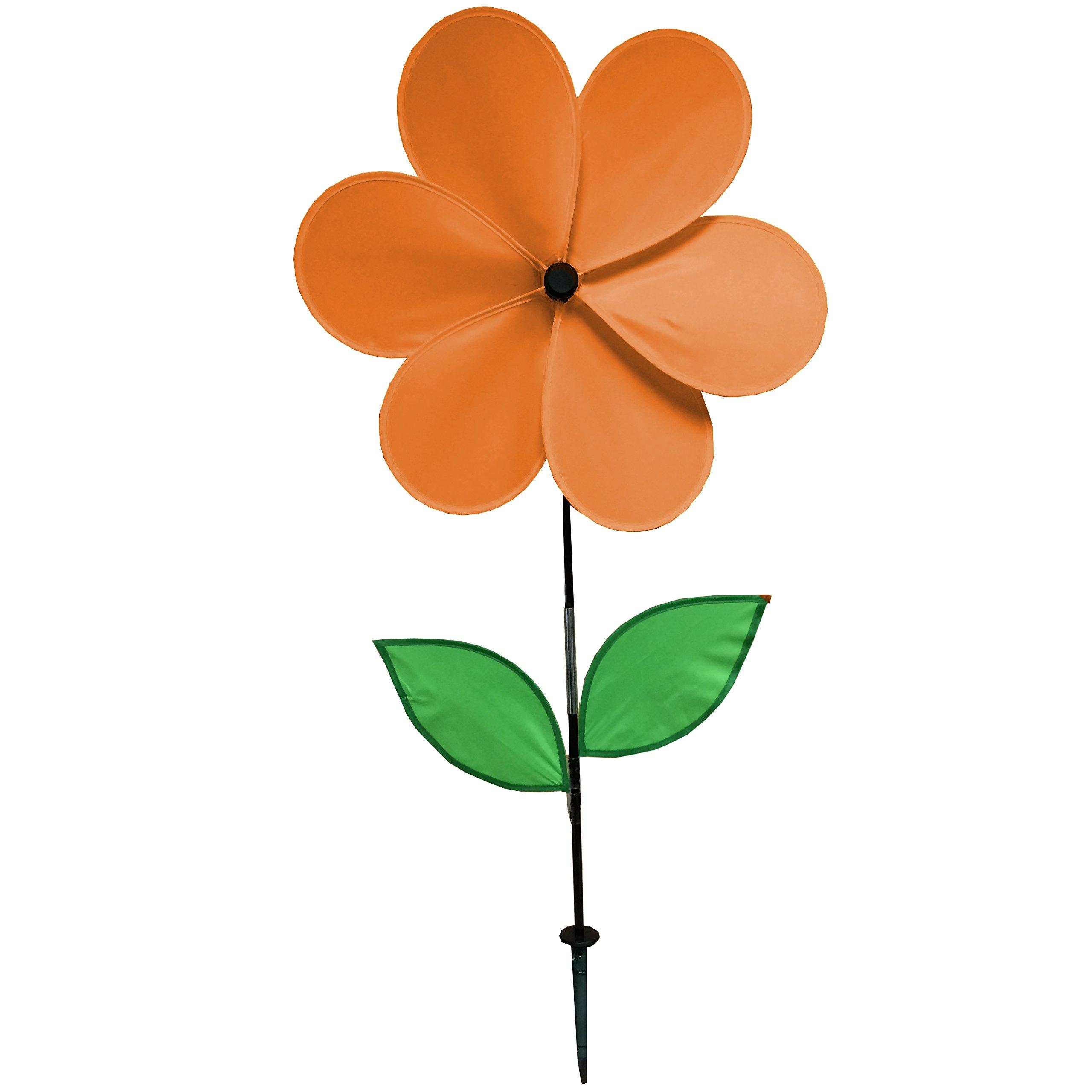 Gardener's Select 6 Petal Pin Wheel, Orange, 18 by 28''