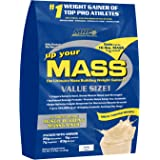 MHP, Up Your Mass Weight Gainer, Vanilla, 10 Pound