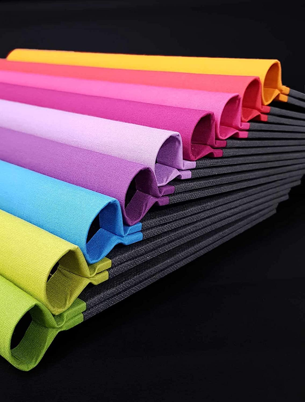 A4 Klemmbinder Napura Rainbow Collection Helllila