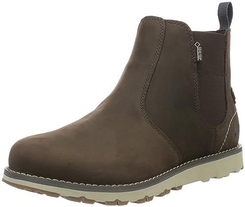Womens Hervor Ankle Boots, Dark Brown-Dark Blue, 7 UK Viking