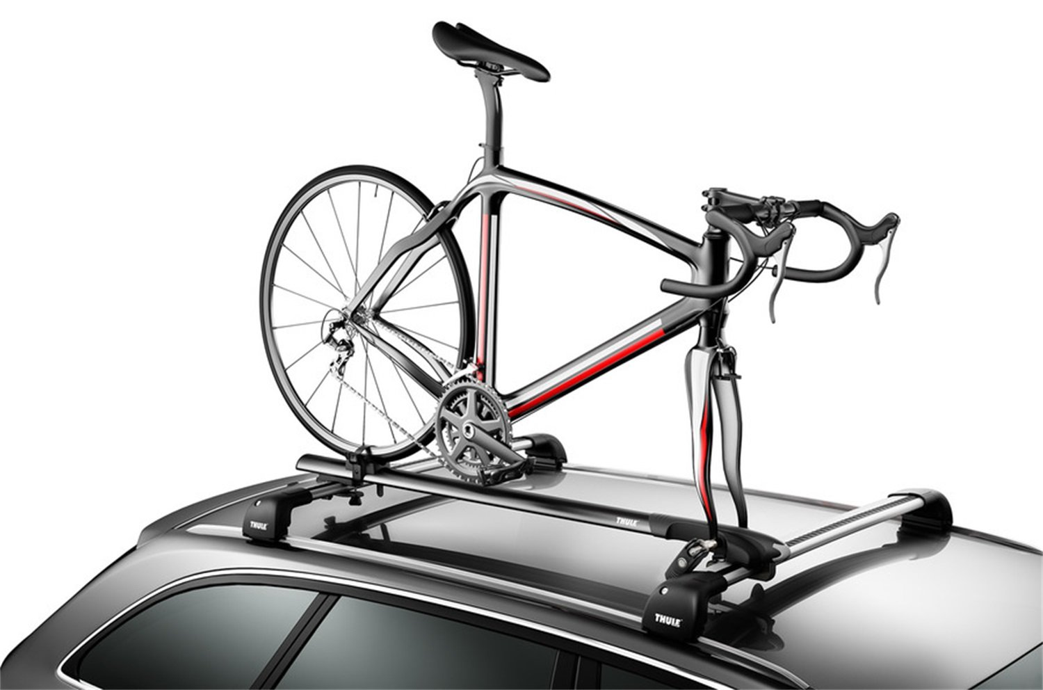 thule on racks rack replacement bar roof awesome carrier to zoom parts bike