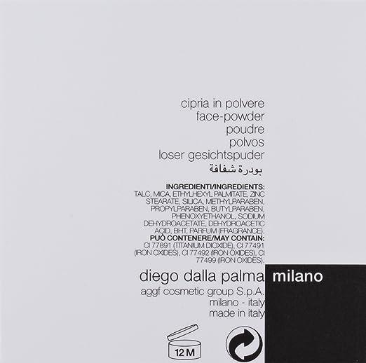 Diego dalla Palma Polvo Transparente en Polvo 02, Cosmética y Make-Up - 100 ml
