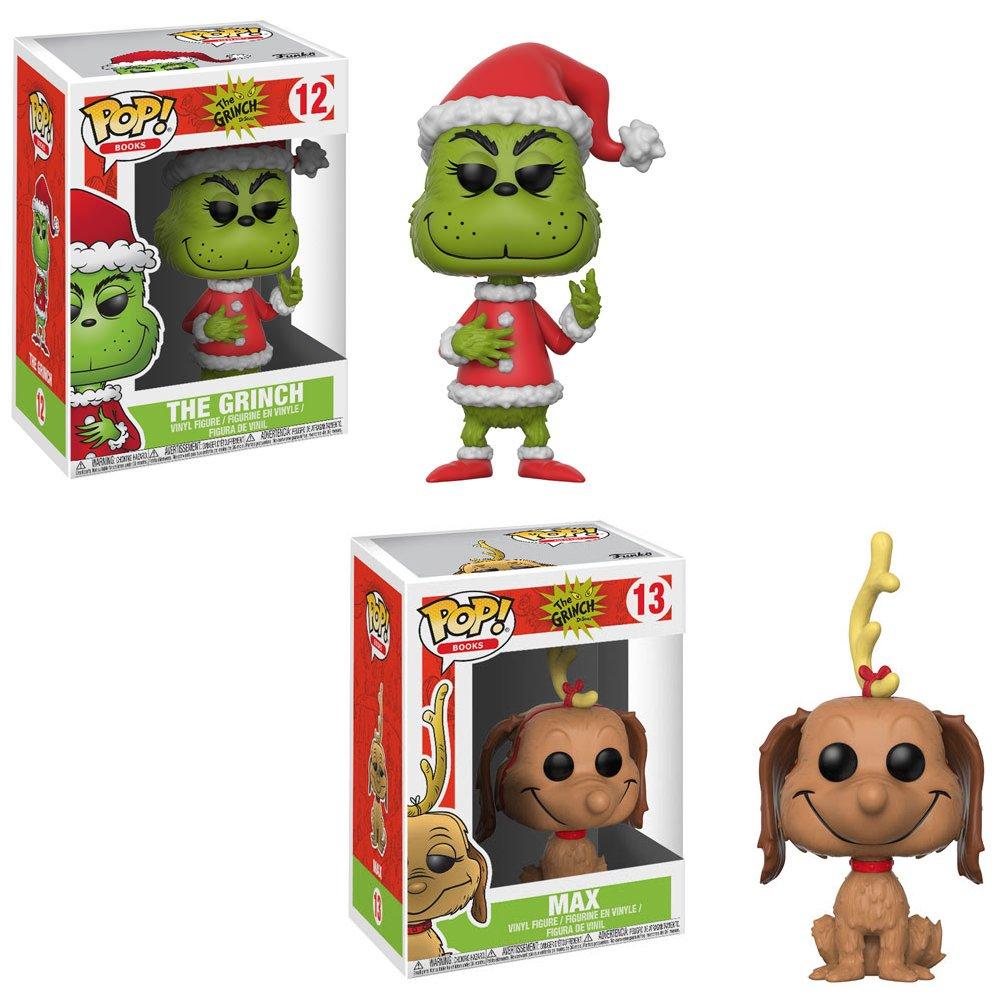 Amazon.com: Dr. Seuss El Grinch – Santa Grinch, max el Perro ...