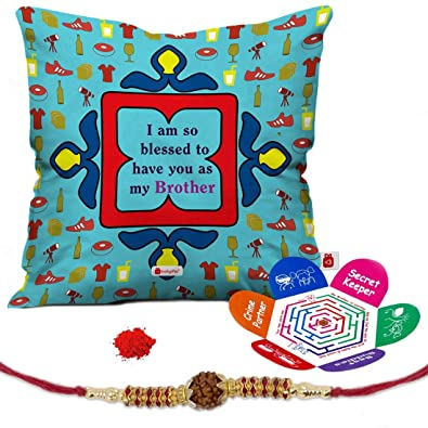 Buy Indi ts Raksha Bandhan Gifts for Brother Set of