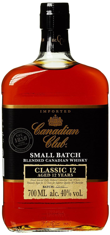 Canadian Club Classic Whisky 12 Jahre (1 x 0.7 l): Amazon.de: Bier ...