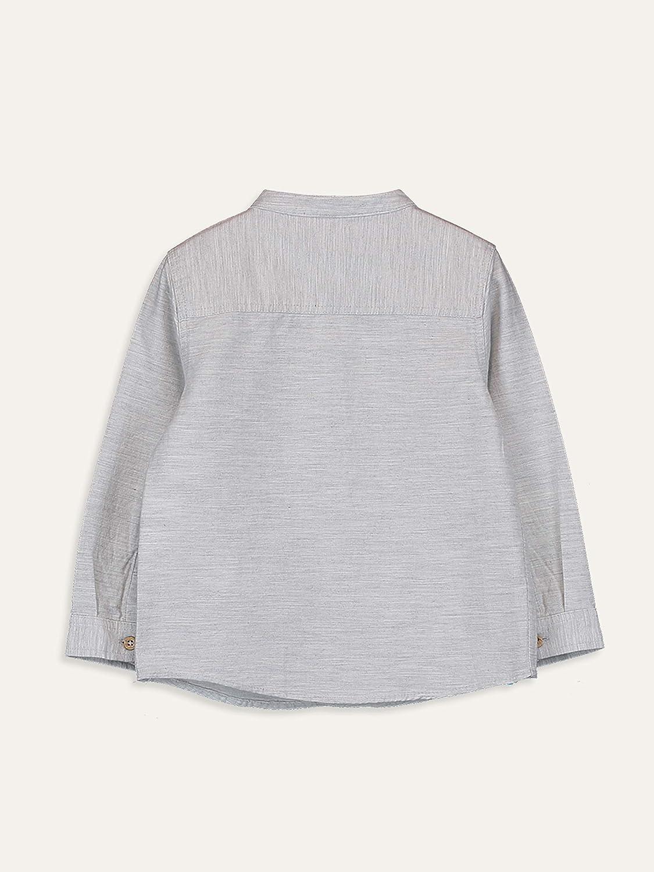 LC WAIKIKI Baby Twill Hemd mit dominierendem Kragen f/ür Jungs