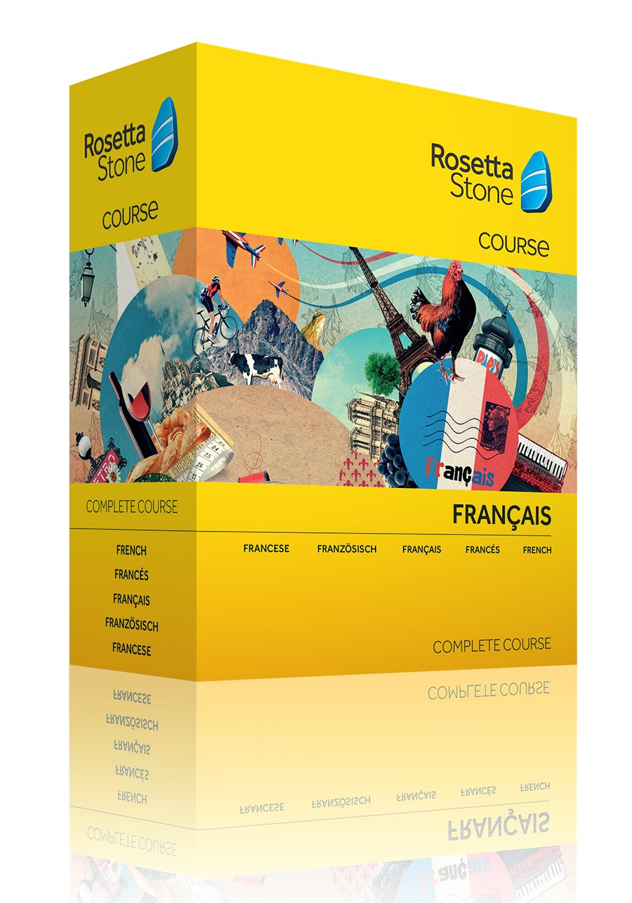 Rosetta Stone Frenchplete Course: Rosetta Stone: Amazon: Software