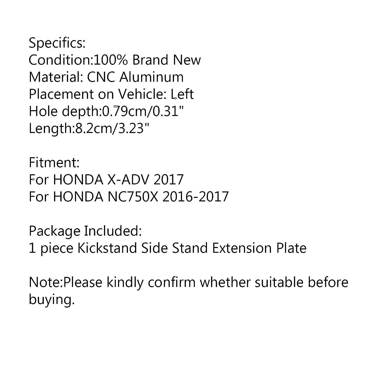Supporto laterale estensibile per HON-DA X-ADV 2017//NC750X 2016-2017