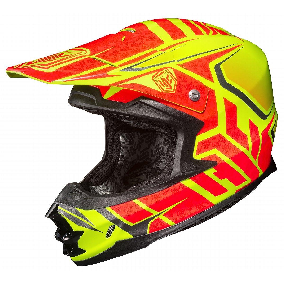 644-863 HJC FG-17 Thrust Full-Face Motorcycle Helmet MC-6F, Medium