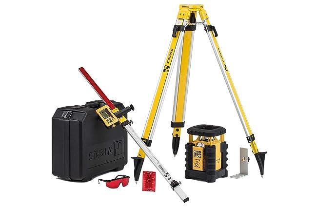 Best Rotary Laser Level For Grading: Stabila LAR350