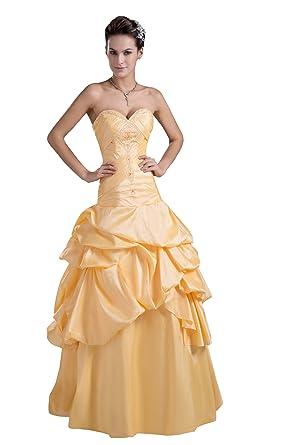 ImPrincess Wedding Dress Medieval Style NO.ip4-5511 at Amazon ...