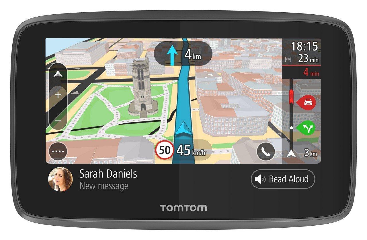 TomTom - GO 5200 (5 Pouces) - Cartographie Monde, Trafic, Zones de Danger à Vie et Appel Mains-Libres - (1PL5.002.04)