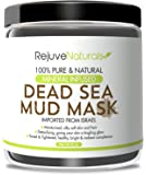 Dead Sea Mud Mask with Minerals, 8 oz ~ Use as a Deep Cleansing, Exfoliating Detox Skin Mask / Mud Pack for Face & Body ~ Also Works as a Hair Moisturizer ~ All Natural, Free of GMOs & Parabens