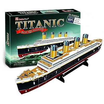 3d Titanic puzzle Oxyde de Fun 35pcs