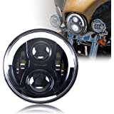 """Harley Headlight, Daymaker led light, 7"""" Motorcycle Light for Road King, Road Glide, Street Glide and Electra Glide,Ultra Limited"""