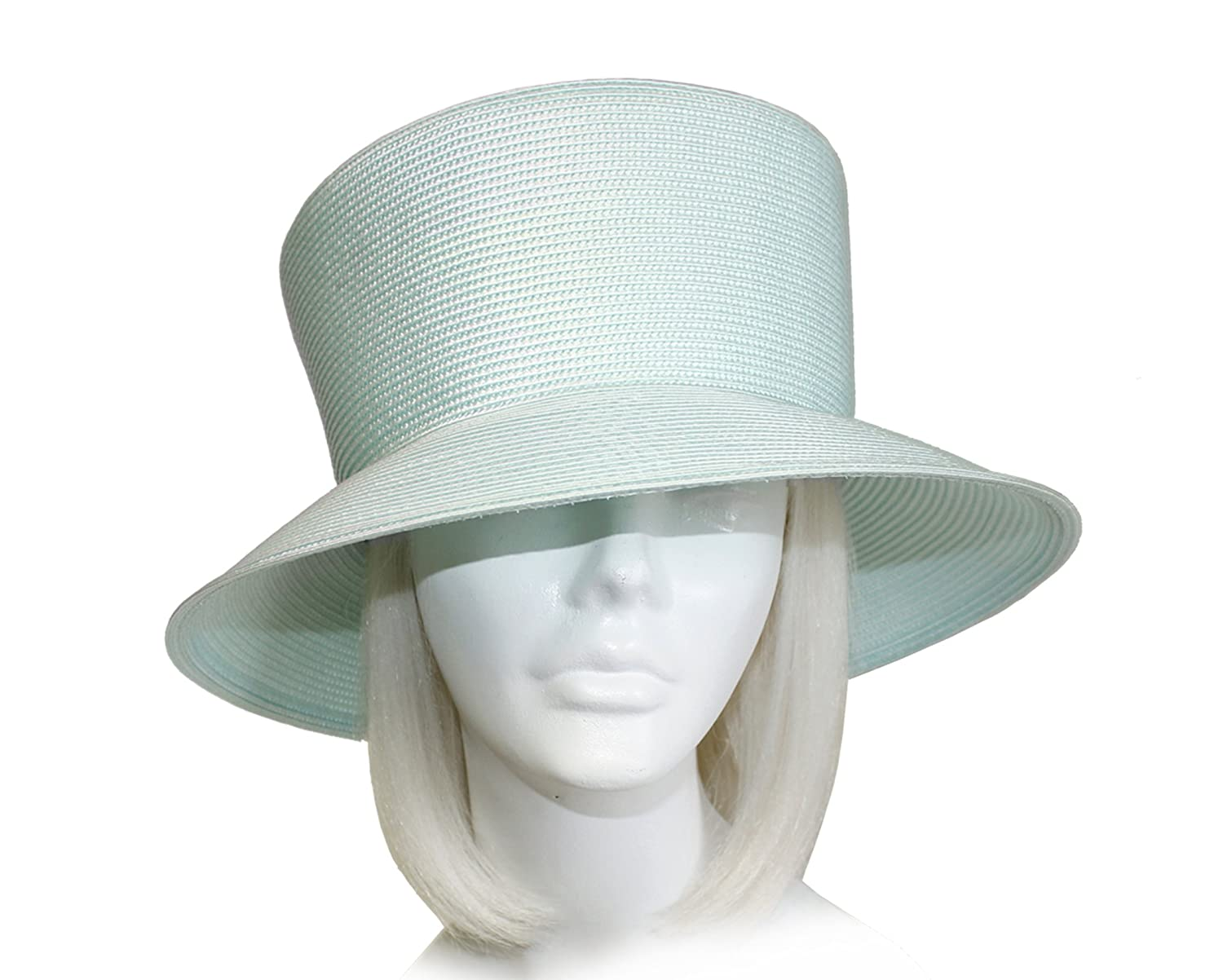 ad3f4ab5edd Mr. Song Millinery Tagline Straw Medium Brim Hat Body (UNTRIMMED HAT ONLY)  1073B at Amazon Women s Clothing store