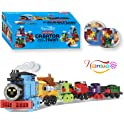 Nainiuao 189-Pieces Building Blocks Train Set