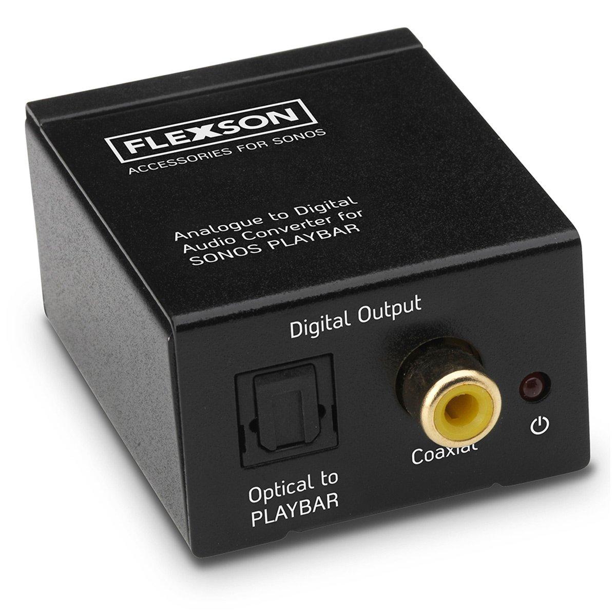 Flexson Analogue to Digital Audio Converter for Sonos PLAYBAR and PLAYBASE