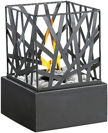 Carlo Milano Tischkamin: Tisch Dekofeuer Feng Shui Mit Steingarten (Bio  Ethanol Feuerschalen)