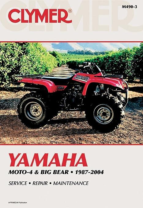 amazon com clymer repair manual for yamaha atv yfm350 yfm400 87 04 rh amazon com Polaris ATV Repair Polaris ATV Repair