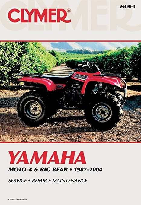 amazon com clymer repair manual for yamaha atv yfm350 yfm400 87 04 rh amazon com 1990 Yamaha Moto 4 350 1994 Yamaha Moto 4 350