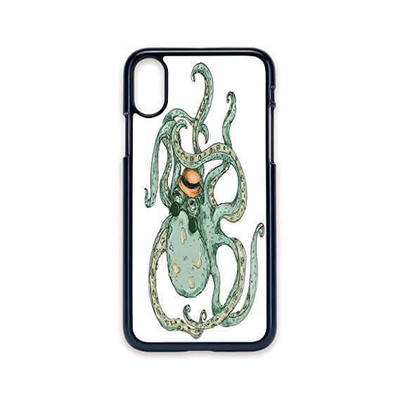 Amazon com: Phone Case Compatible with iPhone X 2D Print