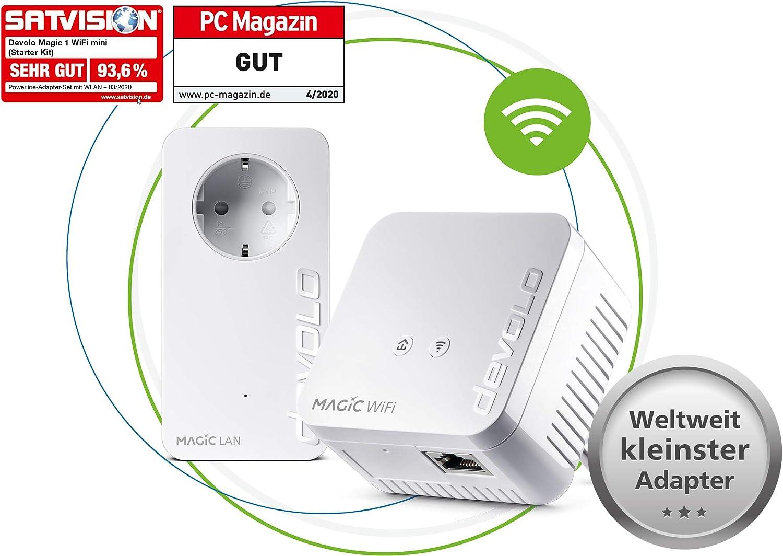 Devolo Magic 1 1200 Wifi Mini Starter Kit Kompaktes Computer Zubehör