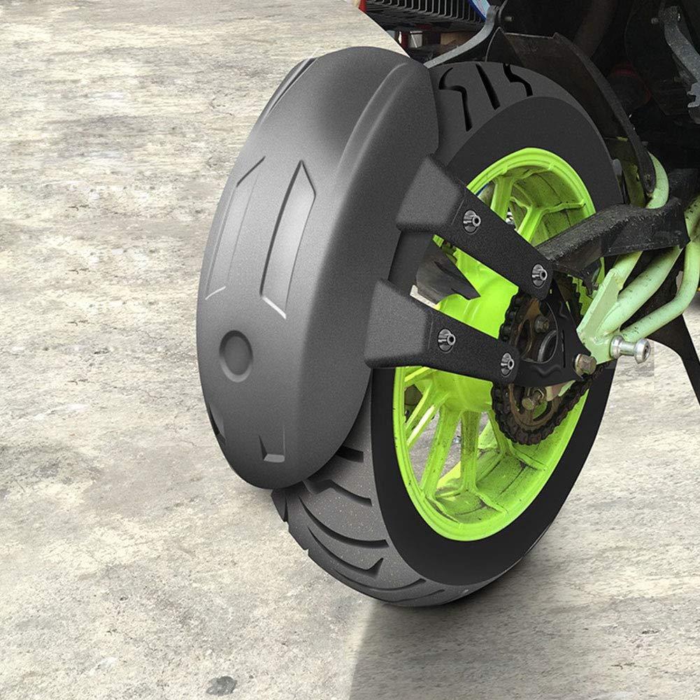 Balight Motocicleta Guardabarros trasero Rueda trasera Guardia contra salpicaduras Cubierta de la rueda trasera Guardia salpicaduras Guardabarros