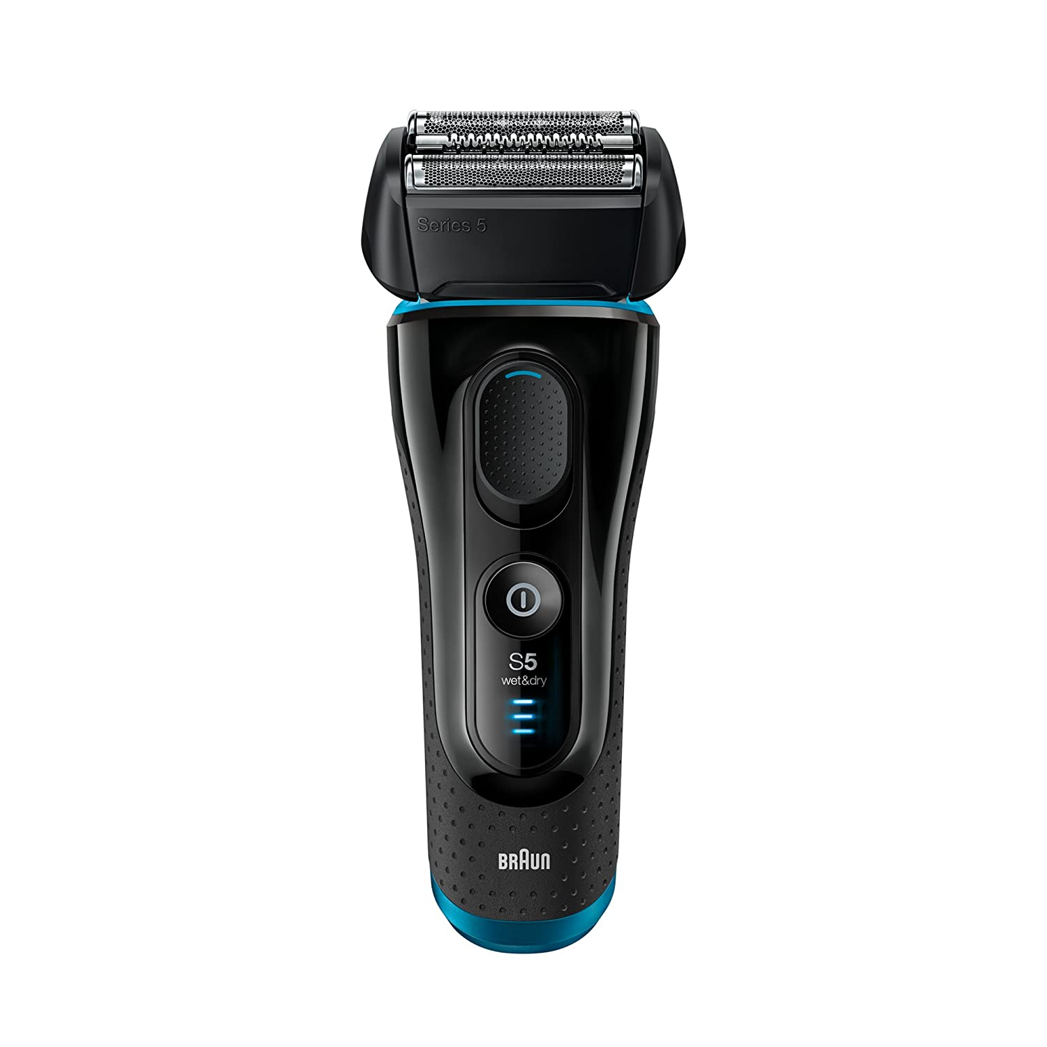 Electric Shaver for Men by Braun Series 5 5140s Cordless Electric Razor, Precision Trimmer, Flexible Shaving Head, Wet & Dry Foil Shaver, Black