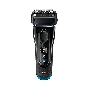 Electric Shaver for Men by Braun Series 5 5140s Cordless Electric Razor, Precision Trimmer, Flexible Shaving Head, Wet & Dry Foil Shaver, Black