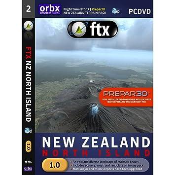 Orbx New Zealand North Island for FSX: Amazon co uk: Electronics