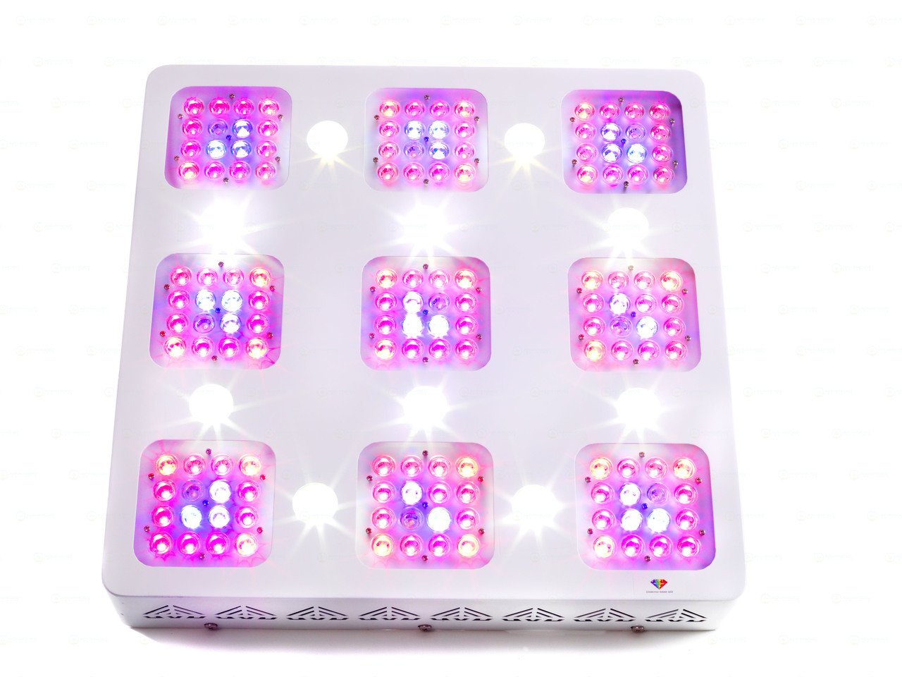 Advanced LED Lights - Full Spectrum LED Grow Light for Indoor Plants Vegs and Flowers - Diamond Series XML 350 With 10W CREE XML LEDs