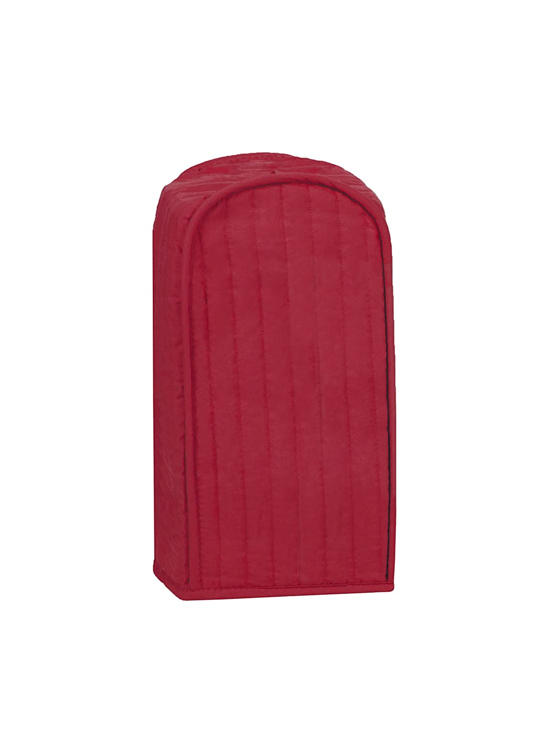 RITZ Polyester / Cotton Quilted Blender Appliance Cover, Dust and Fingerprint Protection, Machine Washable, Paprika Red